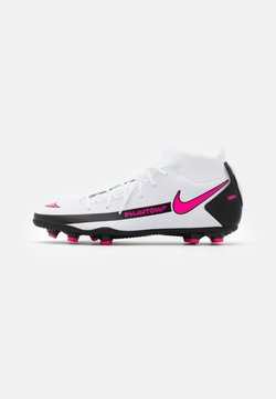 Nike Performance - PHANTOM GT CLUB DF FG/MG - Chaussures de foot à crampons - white/pink blast/black