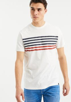 WE Fashion - T-Shirt print - white