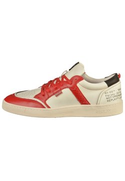 Replay - Sneaker low - whit/red