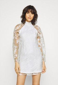 Gina Tricot - YLVA DRESS - Cocktailkleid/festliches Kleid - white