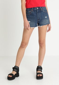 Levi's® - 501 HIGH RISE - Shorts di jeans - silver lake