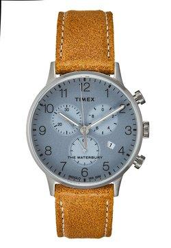 Timex - WATERBURY CLASSIC - Montre à aiguilles - silver-coloured/brown