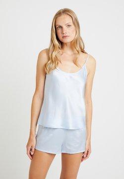 La Perla - PIGIAMA CORTO SET - Pyjama set - azure