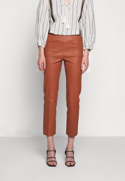 By Malene Birger - FLORENTINA - Leather trousers - brick