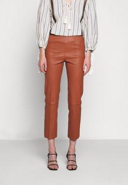 By Malene Birger - FLORENTINA - Pantalon en cuir - brick