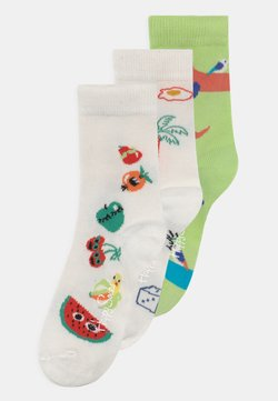 Happy Socks - FRUIT TOWER & GOOD TIMES & DOG 3 PACK UNISEX - Calcetines - multi-coloured