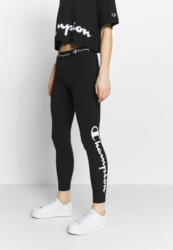 Champion - LEGGINGS - Tights - black