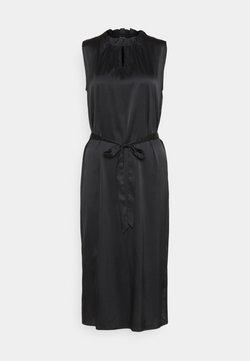 Sand Copenhagen - RAYA SLEEVELESS DRESS - Freizeitkleid - black