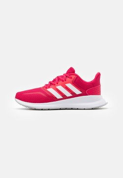 adidas Performance - RUNFALCON - Zapatillas de running neutras - power pink/footwear white/signal pink