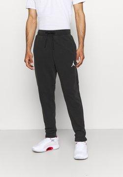 Jordan - AIR PANT - Jogginghose - black/white