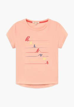 Barbour - GIRLS BOARDWALK  - Print T-shirt - pale coral