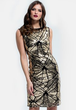 HotSquash - SLEEVELESS SEQUIN - Cocktail dress / Party dress - gold