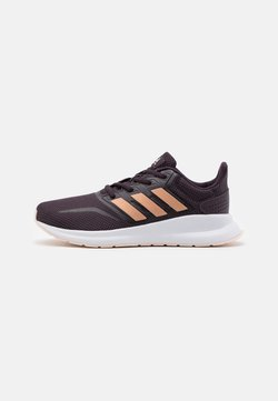 adidas Performance - RUNFALCON UNISEX - Hardloopschoenen neutraal - noble purple/copper metallic/pink tint