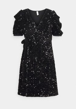 YAS Petite - YASSEQUELLA WRAP DRESS SHOW - Cocktail dress / Party dress - black