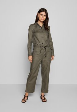 Marc O'Polo - UITILITY STYLE BELT DETAIL - Jumpsuit - clear fern