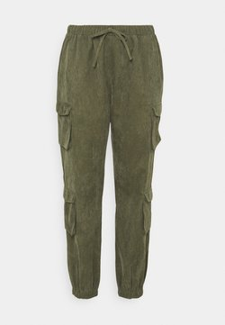 Missguided Plus - UTILITY TROUSER - Pantalones - khaki