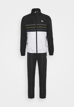 Sergio Tacchini - AMARILLIS TRACKSUIT - Trainingsanzug - anthracite/blanc de blanc