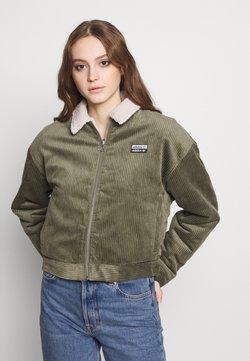 adidas Originals - JACKET - Light jacket - legacy green/clear brown