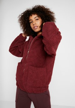 Onzie - TEDDY JACKET - Chaqueta outdoor - burgundy