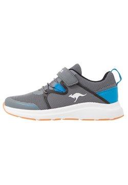 KangaROOS - KB-RACE - Sneakers laag - steel grey/brillant blue