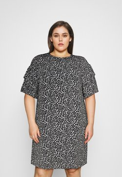 Selected Femme Curve - SLFCARL DRESS - Day dress - black