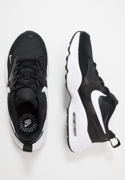 Nike Sportswear - AIR MAX FUSION - Sneakers laag - black/white