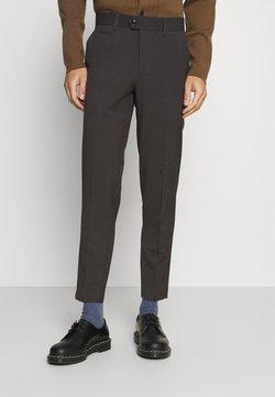 Lindbergh - CLUB PANTS - Trousers - dark grey melange