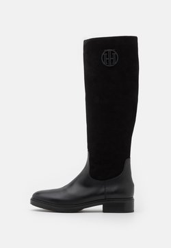 Tommy Hilfiger - MODERN LONG BOOT - Stiefel - black