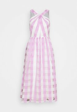 kate spade new york - GINGHAM DRESS - Vestido de cóctel - fresh lilac