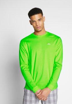 Fila - EITAN LONG SLEEVE - Long sleeved top - sharp green