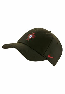 Nike Performance - Cappellino - sequoia/sport red
