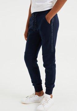 WE Fashion - Verryttelyhousut - dark blue
