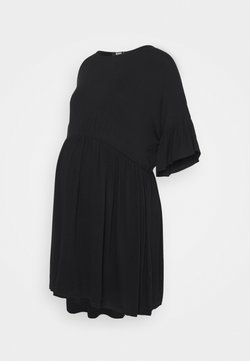 Missguided Maternity - SMOCK DRESS - Jerseykleid - black