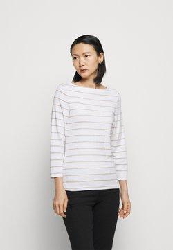 Lauren Ralph Lauren - Langarmshirt - white/gold