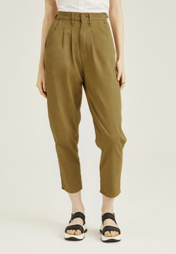 Levi's® - PLEATED BALLOON - Jeans baggy - dull gold