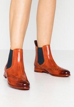 Melvin & Hamilton - SELINA  - Ankle Boot - orange/navy