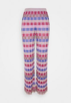 M Missoni - PANTALONE - Stoffhose - pink/multi-coloured