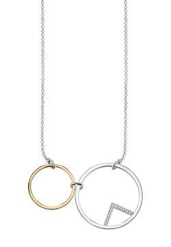 THOMAS SABO - KREISE - Halskette - silver coloured, gold coloured, white
