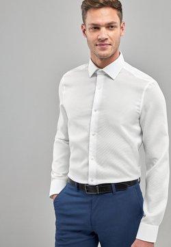 Next - SLIM FIT SINGLE CUFF SIGNATURE CANCLINI - Businesshemd - white