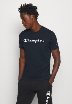 Champion - LEGACY CREWNECK - T-shirt print - dark blue