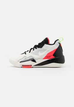 Jordan - ZOOM '92 - Sneaker high - white/flash crimson/black/sail/electric green/volt