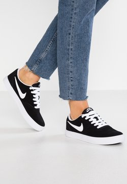 Nike SB - CHECK SOLAR - Sneaker low - black/white
