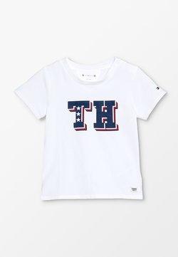 Tommy Hilfiger - BABY BOY TEE - T-shirt print - bright white