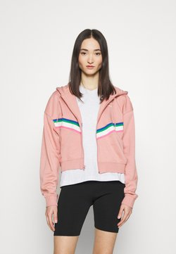 Nike Sportswear - Sweatjacke - rust pink/white