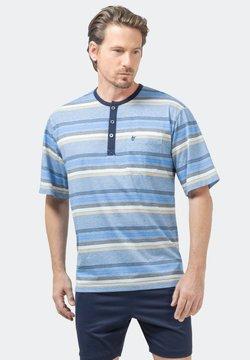 hajo Polo & Sportswear - Nachtwäsche Shirt - hellblau