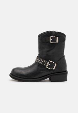 Tata Italia - Cowboy-/Bikerlaarsjes - black