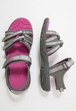 Teva - Walking sandals - silver/magenta