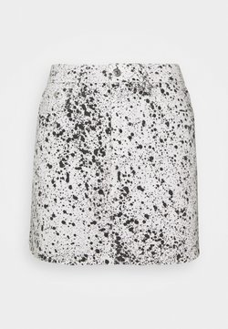 The Kooples - SKIRT - Minirock - black/white