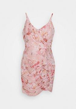 Forever New Petite - AUDRINA RUCHED DRESS - Hverdagskjoler - pink floral