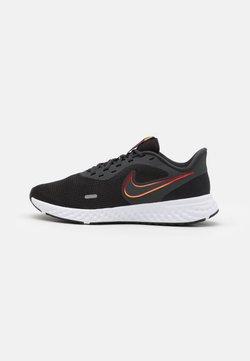 Nike Performance - REVOLUTION 5 - Zapatillas de running neutras - black/vast grey/total orange/gym red/reflect silver